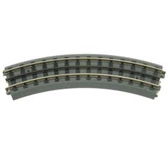 MTH 40-1002 RealTrax - O-31 Curved Track Section