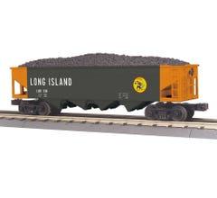 MTH 30-75692 4-Bay Hopper Car - Long Island (Trainworld) #6141