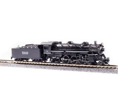 Broadway Limited #6244 USRA Light Pacific 4-6-2 GM&O #560 Paragon3 Sound/DC/DCC