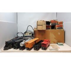 Lionel #LIO1437WS Steam Locomotive Freight Set With Original Boxes 1437WS