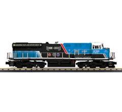 MTH #30-20752-1 CSX ES44AC Imperial Diesel Engine With Proto-Sound 3.0