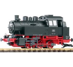 Piko #37202 DB III BR80 Steam Loco, Black/Red