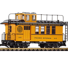 PIKO #38602 Wood Drover's Caboose - D & RGW