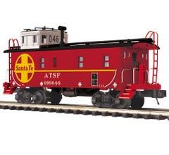 MTH #20-91690 Steel Caboose - Santa Fe