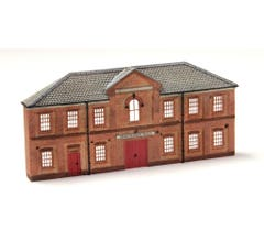 Bachmann #35056 Merchant's Hall False-Front Resin Building