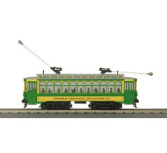 MTH #30-5169-1 Brill Semi Convertible Trolley With Proto-Sound 3.0- Jersey Central Traction Co