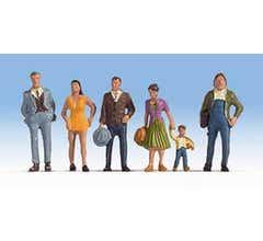 Walthers #949-6056 Figures - Pedestrians Set 2