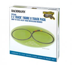 Bachmann #44487 Black E-Z TRACK Figure 8 Track Pack