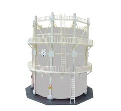 Model Power #206 Deluxe Large Oil Storage Tank