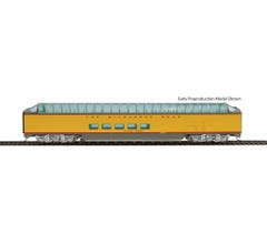 Walthers #920-9145 85' Milwaukee Road Pullman-Standard Super Dome - Deluxe