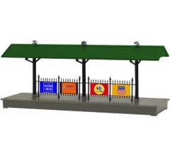 Lionel #6-84318 Illuminated Station Platform