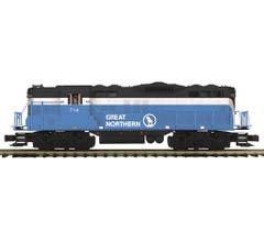 MTH #20-21519-1 GP-9 Diesel Engine With Proto-Sound 3.0 - Great Northern Cab No. 714