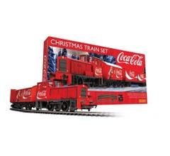 Hornby #R1233 Coca-Cola Christmas Train Set