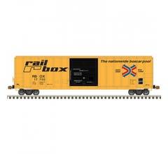 Atlas #50005591 FMC 5077 SD Box Car - RAILBOX #17721