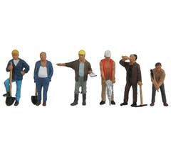Walthers #949-6022 Figures - Construction Workers