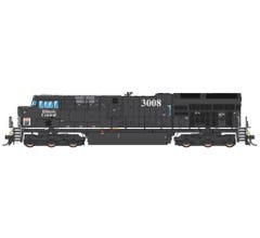 Intermountain #497112S GE Evolution Series Tier 4 Loco With DCC & Sound - Canadian National Heritage- Illinois Central