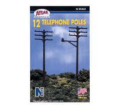 ATLAS #2801 Telephone Poles (12/set)