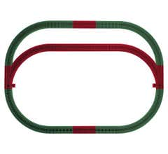 American Flyer 6-49990 Outer Passing Loop Track Pack