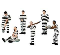 Lionel #1930260 Prisoners (striped) 6-Pack