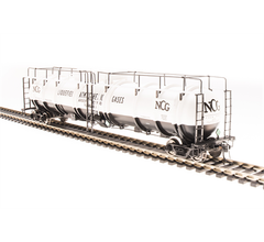Broadway Limited #3726 Cryogenic Tank Car NCG 2-pack