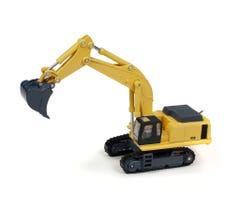 Classic Metal Works #TC100B Hydraulic Excavator (Yellow)