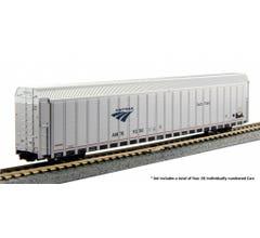 Kato #106-5505 Autorack Amtrak Auto Train 4-Car Set #3