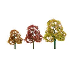 "JTT #92131 Deciduous Trees - Autumn 2 - 3"" (10pcs)"