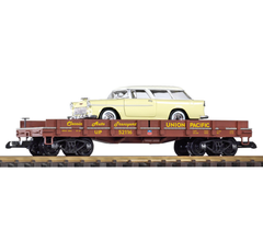 PIKO #38769 Union Pacific Auto Transport, with Diecast Nomad Wagon