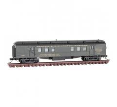 Micro-Trains 14000390 RPO Heavyweight Passenger Car - Denver & Rio Grande Western