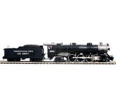 MTH #20-3812-1 4-6-2 USRA Heavy Pacific Steam Engine w/Proto-Sound 3.0 - U.S. Army Cab # 494