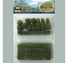 JTT #95585 Boxwood Plants 15/pk