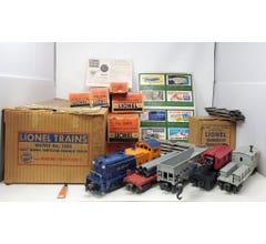 Lionel #LIO1523 O-27 Diesel Switcher Freight Train Set