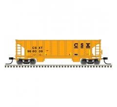 Atlas #50005479 41' Ballast Hopper - CSX#966063