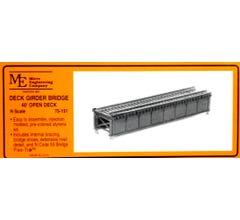 Micro Engineering N #75-151 40' Open Deck Girder Bridge Kit