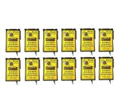 """Circuitron #800-6212 """"Smail"""" Slow Motion Actuator with Integrated Logic (DCC Decoder Equipped) 12 Pack"""