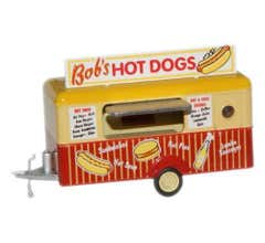 Oxford #87tr001  Bobs Hot Dogs Mobile Trailer