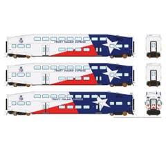 Rapido #146012 BiLevel Commuter Car - TRE set1