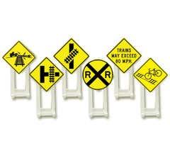 Lionel #6-37120 Railroad Signs