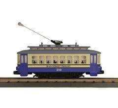 MTH #30-5199 Bump-n-Go Trolley - Main Street