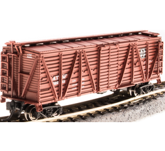 Broadway Limited #3566 ATSF Stock Car Chicken Sounds N