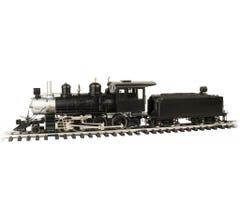 Bachmann #91804 Unlettered 4-6-0 Steam Locomotive