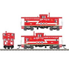 Atlas #TWTL04 Extended Vision Caboose-CSX Honoring First Responders #911- Trainworld Exclusive