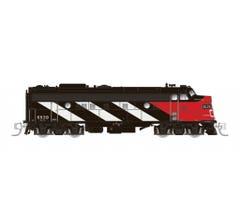 Rapido #530505 CN FP9A (DC/DCC/Sound): CN Stripes Scheme #6516