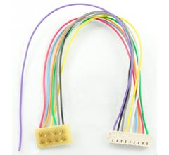 """TCS #1361 T-3.5"""" is a 3.5"""" harness for the T series with a NMRA plug."""