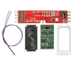TCS #1755 WDK-ATH-7 WOWKit DCC Sound Conversion Kit