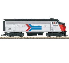 LGB #21582 Amtrak Diesel Locomotive F7 A Phase I w/Sound