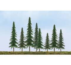 """JTT #92026 Spruce Tree Bulk Pack 2""""- 4"""" (36 pcs)"""