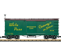 LGB #48675 WP&Y RR Boxcar