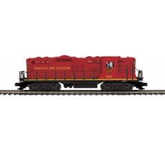 MTH #20-21520-1 GP-9 Diesel Engine With Proto-Sound 3.0 - Norfolk & Western (Redbird) Cab No. 520