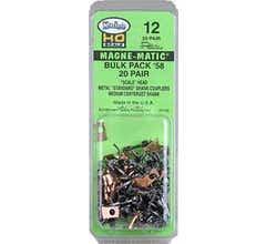 Kadee #12 #58 Metal Couplers Bulk Pack (20 pair)